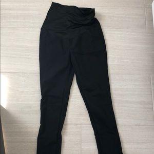 Ann Taylor Loft maternity black trousers